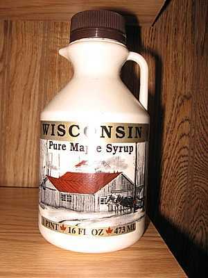 Wisconsin Maple Syrup