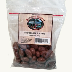 10 oz. Chocolate Covered Raisins
