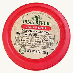 Pine River Cheese Spreads - Jalapeno