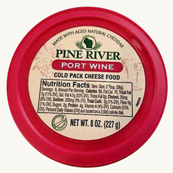 Pine River Cheese Spreads - Port Wine