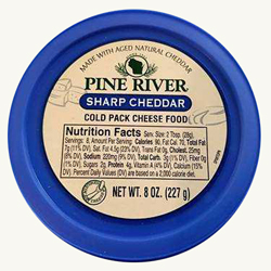 Pine River Cheese Spreads - Sharp Cheddar
