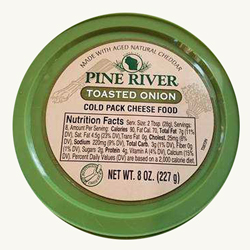 Pine River Cheese Spreads - Toasted Onion