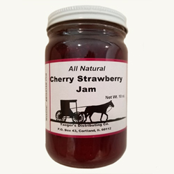 Amish Jam - Cherry Strawberry