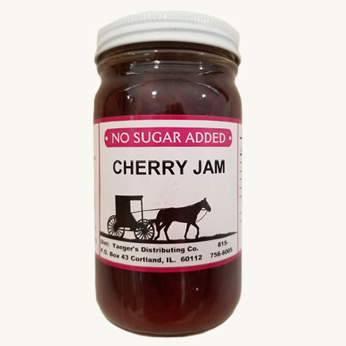 Amish Jam - Cherry - No Sugar