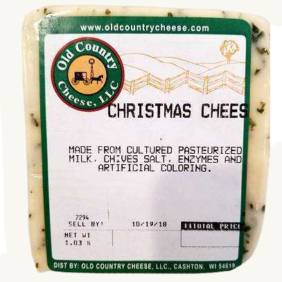 1 lb. Christmas Cheese