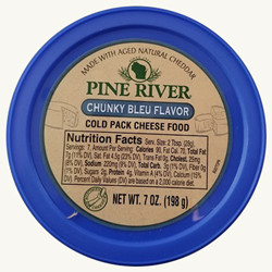 Pine River Cheese Spreads - Chunky Bleu