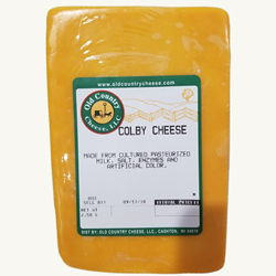 2.5 Pound Colby Cheese