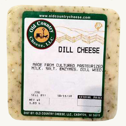 1 lb. Dill Cheese