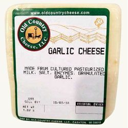 1 lb. Garlic Cheese