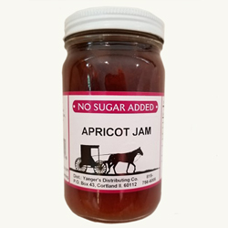 Amish Jam - Apricot - No Sugar