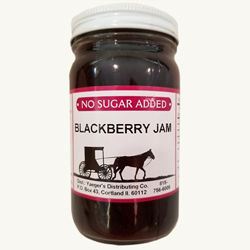Amish Jam - Blackberry - No Sugar