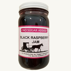 Amish Jam - Black Raspberry - No Sugar