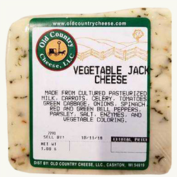 1 lb. Vegetable Jack Cheese